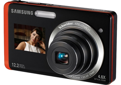 samsungsualview Samsung DualView   Dual screen digital camera