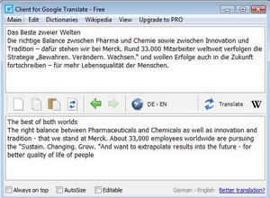 translateclient small Translate  Client   cool freeware embeds Google Translate into your Windows apps