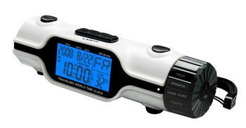 worldtravelleralarmclock World Travel Alarm Clock   Find time in another country