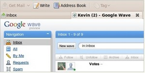 googlewavethunderbirdhack small1 Running Google Wave inside your Thunderbird email client   v. cool