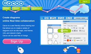 cacoo small Cacoo   create diagrams the gorgeous way