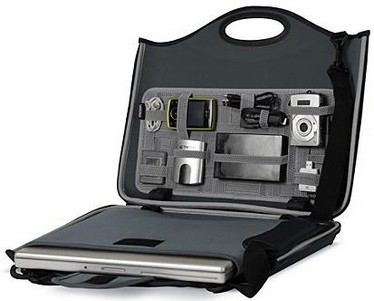 laptopcaseandorganizer small Laptop Case and Organizer   pack it away James Bond style