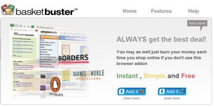 basketbuster small Basketbuster   Firefox addon guarantees you get the best deal available