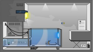 portalflashgame small Portal: The Flash Version    prepare to lose lots of time with this fun game