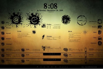 rainmeter1 small Rainmeter   the free desktop customiser for Windows
