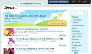 fiverr small Fiverr   awesome service advertises what people will do for $5
