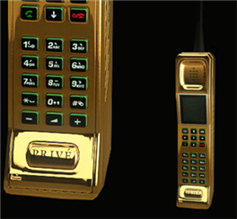 goldbrickphone Prive Phone   The ultimate tradesmans phone