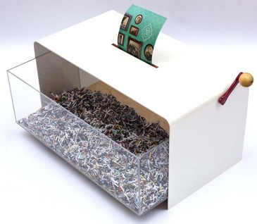 papervoretable small Papervore Coffee Table   kick back, shred your worries and relax