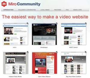 mirocommunity small Miro Community   free and easy way to make a video website