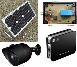solarpoweredwirelesswebcam small Solar Powered Wireless Webcam   keeping tabs on remote places 24/7