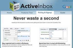 activeinbox small ActiveInbox   freeware sorts out your Gmail overload with style