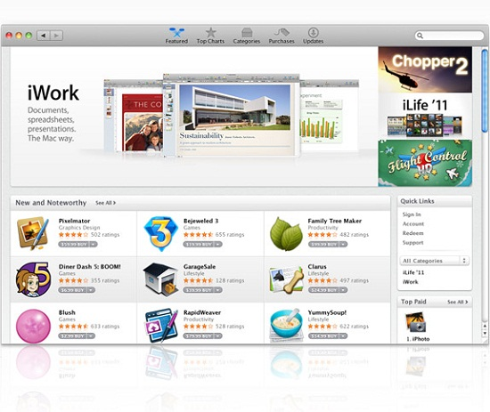 apps gallery Apples App Store now open for business