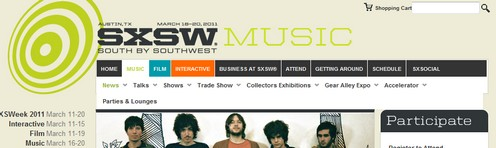 sxswfreemusic small SXSW Free Music   cool 4.5 GB torrent of free legal music now available for public download