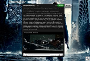 torrentbutler2 thumb Torrent Butler   cool movie finder serves up torrents with style