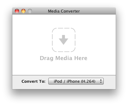 Media Converter Media Converter is a free and simple way to convert media files