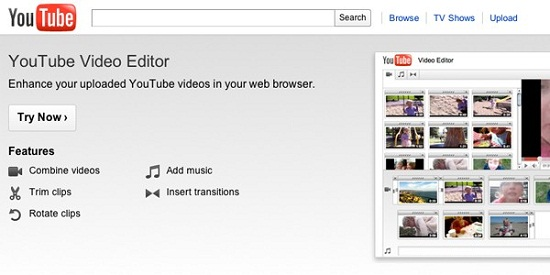 youtubevideoeditor YouTube updates their free video editor with a slew of new features