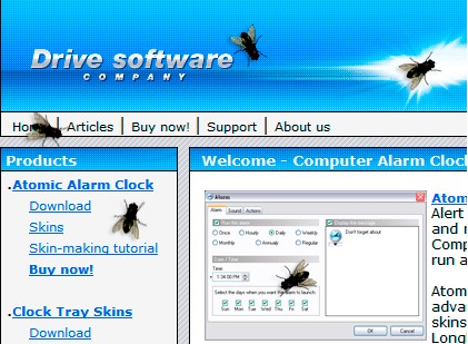 flyondesktop small Fly on Desktop   freeware adds flies to your monitor. And why not?