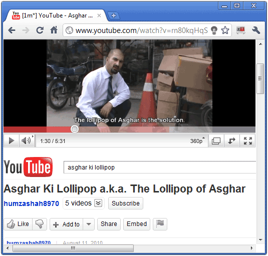 video enlarge1 Automatically resize YouTube videos with a  handy Chrome extension