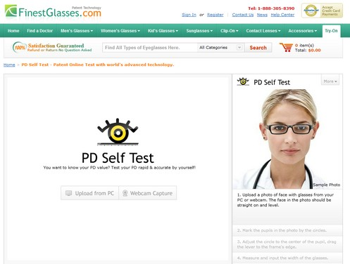 pdselftest small PD Self Test   calculate your own pupil distance and save an opticians visit...