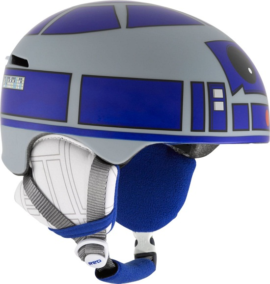 R2-D2 Helmet is perfect for your X-Wing bike