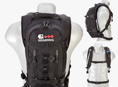 Geigerrig Hydration Packs eliminate the need for water bottles