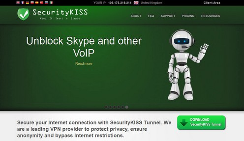securitykiss small Security Kiss lets you browse the web anonymously, easily and for free [Daily Freeware]