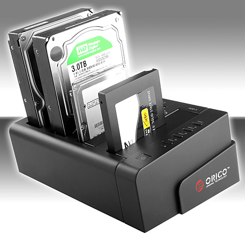 USB3 0QuadrupleSATAHDDDock2 USB 3.0 Quadruple SATA HDD Dock says you can never have too many external drives
