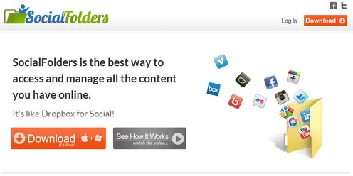 socialfolders small Social Folders is a spamtastic way to sync content across social networks