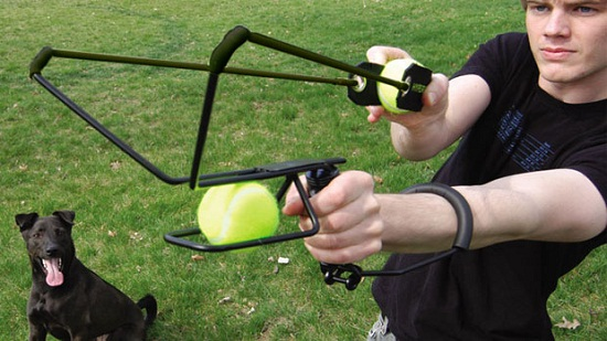 HyperDog Ball Launcher Hyper Dog Ball Launcher takes playing �fetch� to new heights