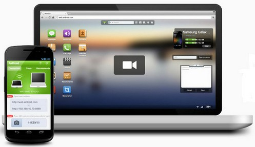 airdroid4 small The brilliant Airdroid integrates your smartphone and laptop browser to deliver real awesomeness [Freeware]