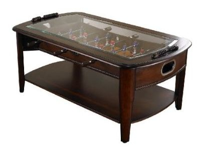 Foosball Coffee Table Foosball Coffee Table makes it game time all the time
