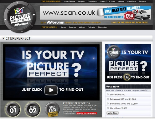 pictureperfect The Picture Perfect Campaign helps you get the very best out of your TV