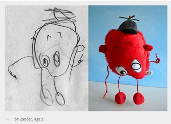 childsown2 Childs Own Studio lets your child create their own soft friend for life