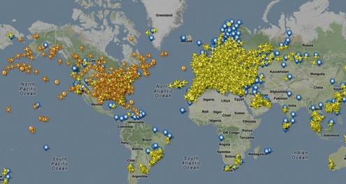 flightradar24e Awesome FlightRadar24 lets you track live air traffic across the world...