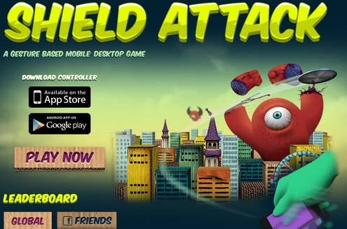 shieldattack Shield Attack   you, your PC and your phone against the aliens [Freeware]