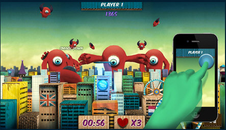 shieldattack2 Shield Attack   you, your PC and your phone against the aliens [Freeware]