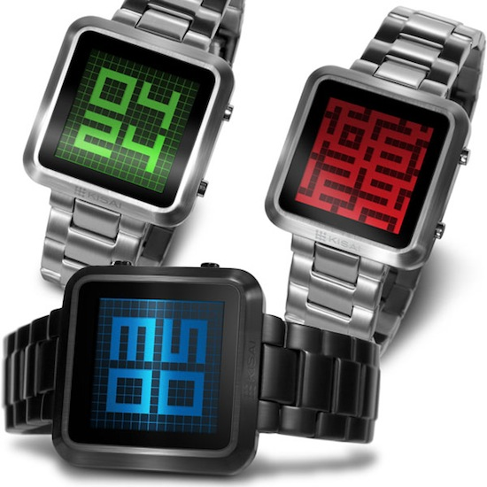 Kisai Maze LCD Watch TokyoFlash Watch Giveaway Extravaganza has a winner!