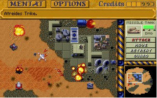 dune2b Dune II in your browser   classic game meets computer