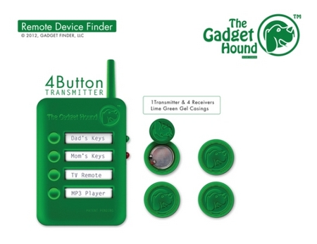 thegadgethoundgreen The Gadget Hound   a handy device that helps you find lost items