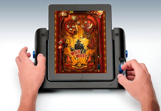 iPad Pinball Game Console iPad Pinball Game Console will make it just like old times?