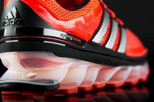Springblade Put some pep in your step with the Adidas Springblade