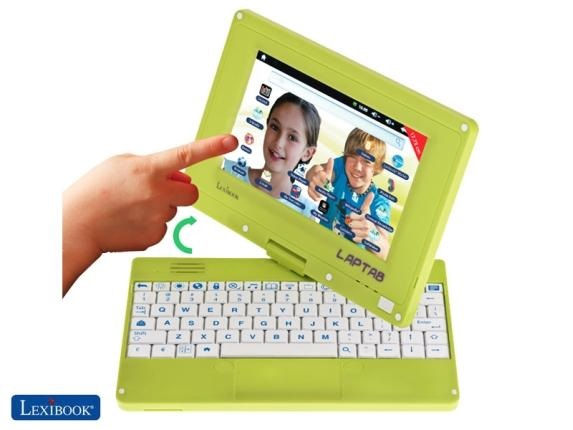 lexibook laptab Lexibook Laptab is a wants to be a stepping stone device for kids
