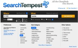 Search Tempest – turbocharged classified ads search engine turns you into a Craigslist Ninja