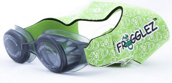 froggles21 Frogglez   the swimming goggles your kid deserves