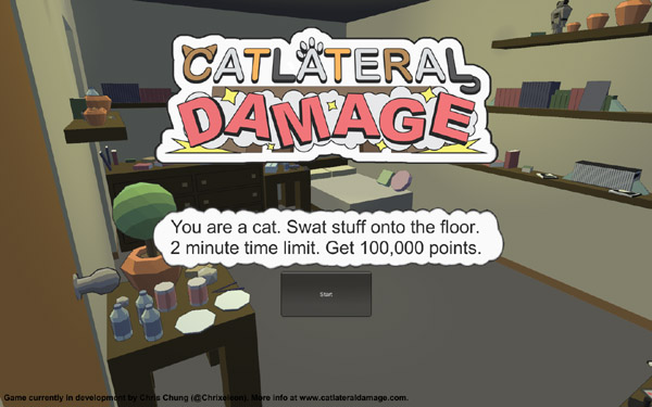 Catlateral Damage Catlateral Damage   Do you have the purrfect skills to be a cat?