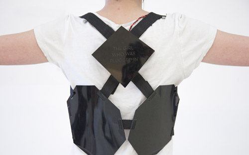 Wearable Book Harness Wearable Book   Feel fictional feelings while reading