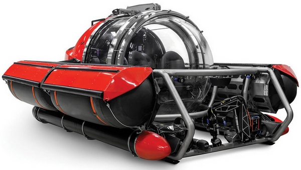 5mansub Five Person Exploration Submarine   state of the art undersea explorer for the price of a business jet