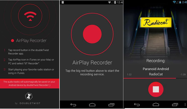 AirRecord The AirPlay Recorder AirRecord: The AirPlay Recorder   Record your iTunes songs anytime you want. [Freeware]