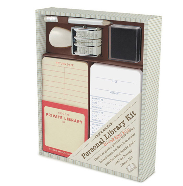 Personal Library Kit – Keep track of who has your books like a pro. Late fees optional.