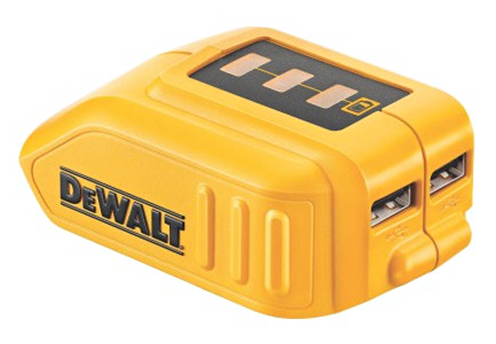 dewaltdcb090 DeWalt DCB090   the worlds most macho portable gadget charger?